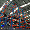 HGD finish warehouse and storage cantilever lumber racks prefabricated manufactured steel structure metal cantilever racking