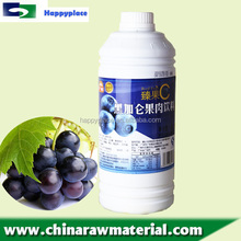 Super Grade Juice Concentrate for Bubble Drink, Black Current Juice with Pulp