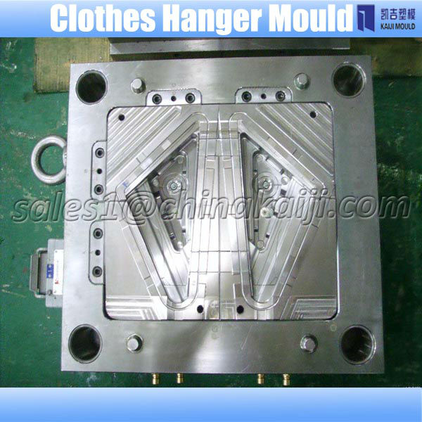 provide quality-guarantee clothes hanger plastic mould