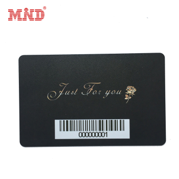 Good price plastic barcode / salon / membership gift card customized printed loyalty card