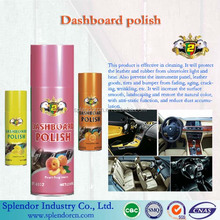Dashboard polish wax or silicone spray or dashboard protection/ dashboard polish spray