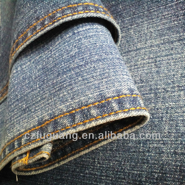 cotton <strong>poly</strong> mixed woven denim fabric