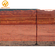 Industrial Safety Removable Orange Plastic Mesh Fence