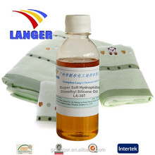 Chemical Additives Super Soft Hydrophilic Amino Silicone Oil Softener LA-307C