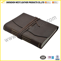 Factory Classic Vintage Leather Travel Journal Handmade Diary Notebook