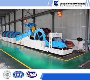 Multiple functions river sand washing machine for sale