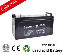 UPS 12v 100ah sealed lead acid battery with ce msds iso