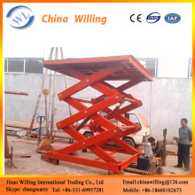 high performance hydraulic beam lifter/stationary scissor lift