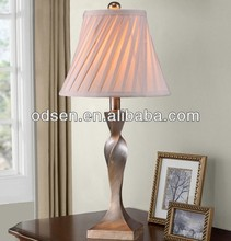 art metal desk lamp led for front table
