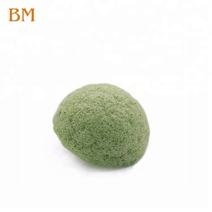 Wholesale Skin Care Private Label 100% Natural Organic Konjac Facial Sponge Charcoal Pure Konjac Sponge