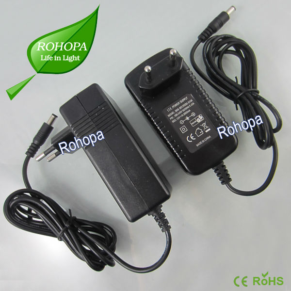 Ac dc plug power adaptor Ce rohs approval hot in Europe 230v to 12v power supply