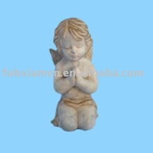 clay garden angel for ornaments