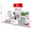 Exhibition booth and stall design custom aluminum trade show booths