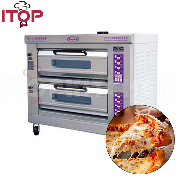 Luxury microcomputer control pizza oven electrical commercial Pizza Oven / Baking Oven