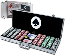 aluminum poker chip case ABS game card case