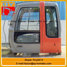 CE certificated steel excavator cabin from China supplier for ZX130 ZX160 ZX200 ZX210 ZX2220 EX230 EX240