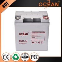 12V 24ah best price high capacity solar energy storage battery