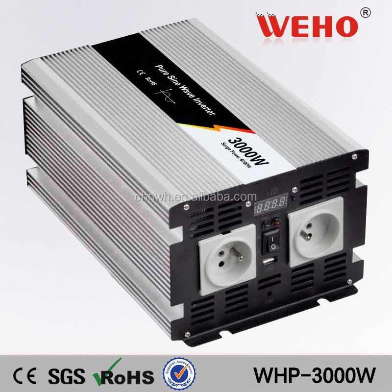 A new model 3000w 12v 110v pure sine wave home voltage stabilizer