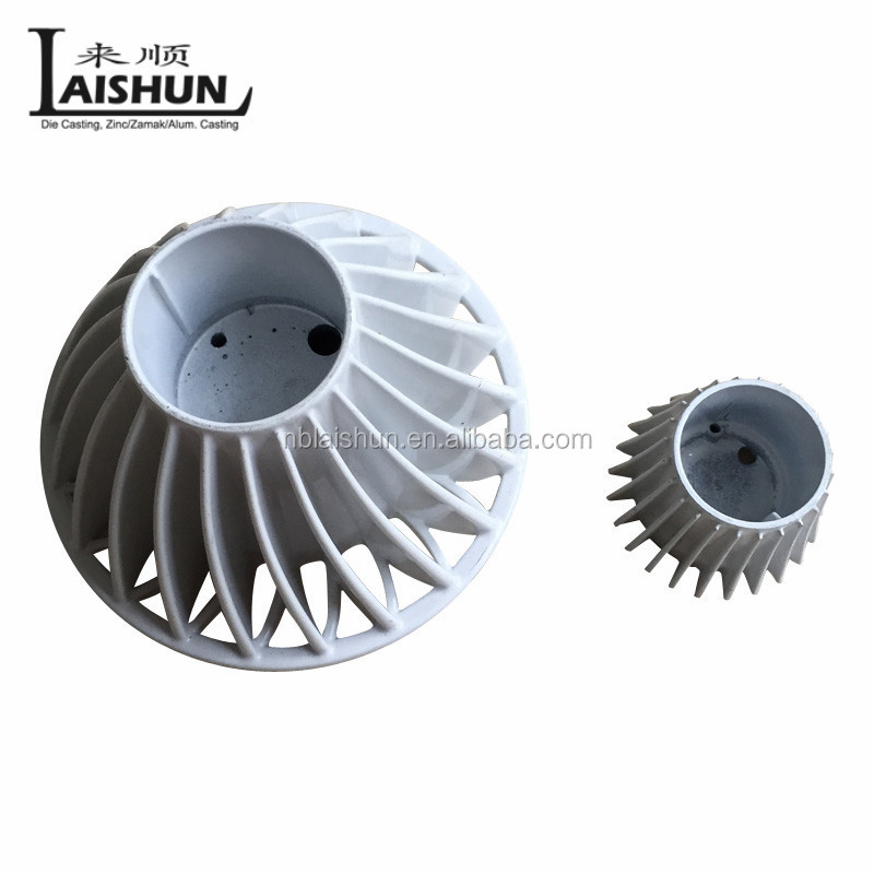 custom high quality aluminum die casting compressor part