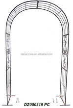 Ornate Cheap Metal Garden Wedding Arch