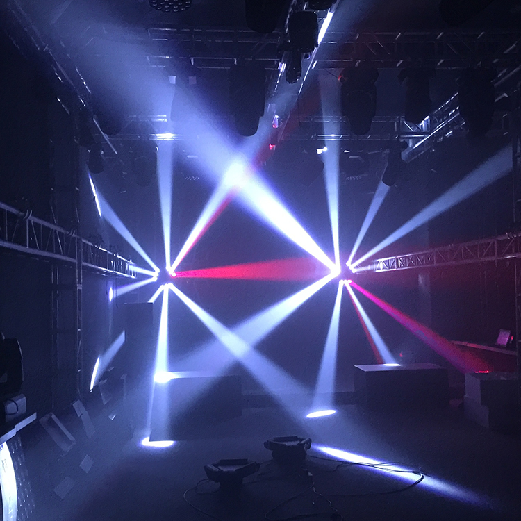 full color 9 eyes LED beam stage light/hot sale led moving head beam