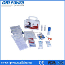 OP Hot sell CE ISO FDA approved first-aid bed professional medical kit plastic case first aid kit