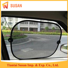 wholesale auto retractable side window car sunshade black