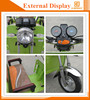 5000W 150cc tricycle for passenger with 4 passenger seat