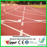 2014 Asian Games Supplier, prefabricated rubber running tracks, rubber athletic tracks