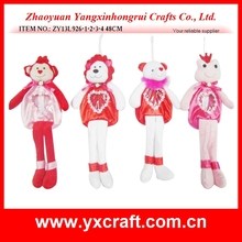 Valentine decoration (ZY13L926-1-2-3-4 48CM) Valentine plush gift bag, valentine sweet bag, valentine decoration