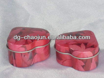 Ring box jewelry tin boxes