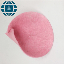 Color polyester punched felt nonwoven fabric interlining