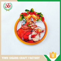 SGC04-2 Decoration Christmas Giveaway Promotional Fridge Magnets
