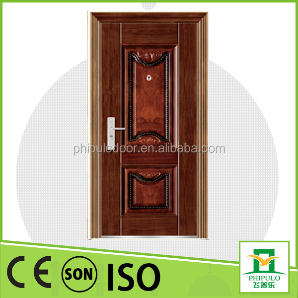 China top popular products metal entrance doors with sun protection