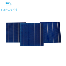 Wwholesale 4bb thin film polycrystalline silicon photovoltaic cell 18% efficiency 6x6 solar cells for sale