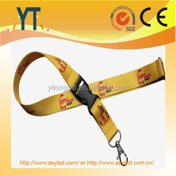 2017 New Arrival Fashion Eco-friendly Printed Custom Polyester Lanyard ,Build your own sports sailing lanyard