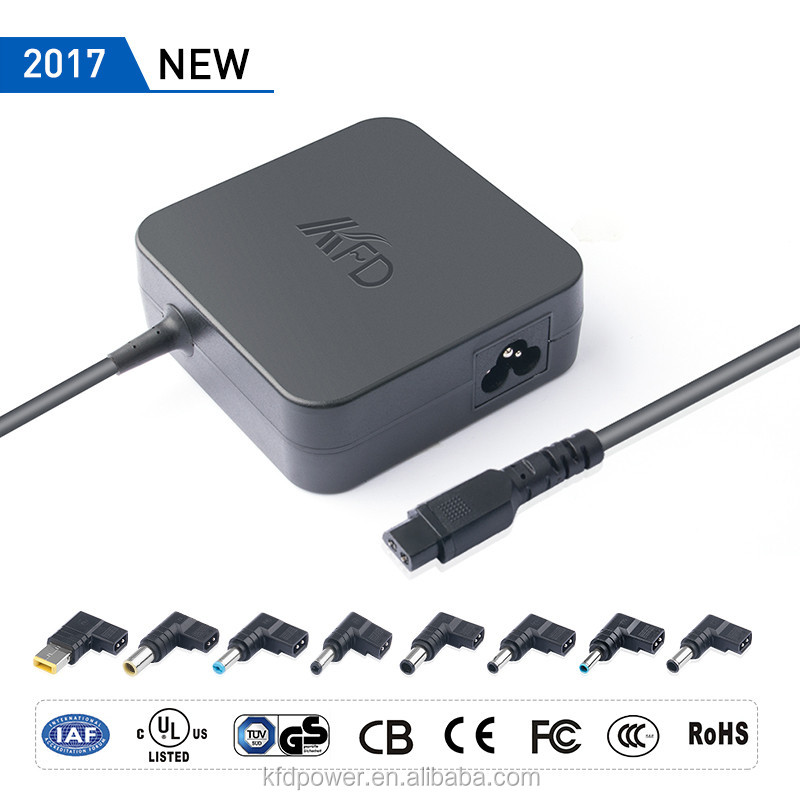 2017 NEW 90Watts 20V 4.5A Automatic Universal Laptop Charger adapter TUV UL GS CE ROHS