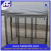 ISO9001 Certificate Customized Indoor PVC Dog Kennel