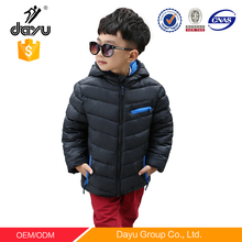 2016 Hot sales super light winter kid clothes baby boys hoody down jacket unsex children winter jacket