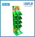 pop up cardboard folding food display stand for candy