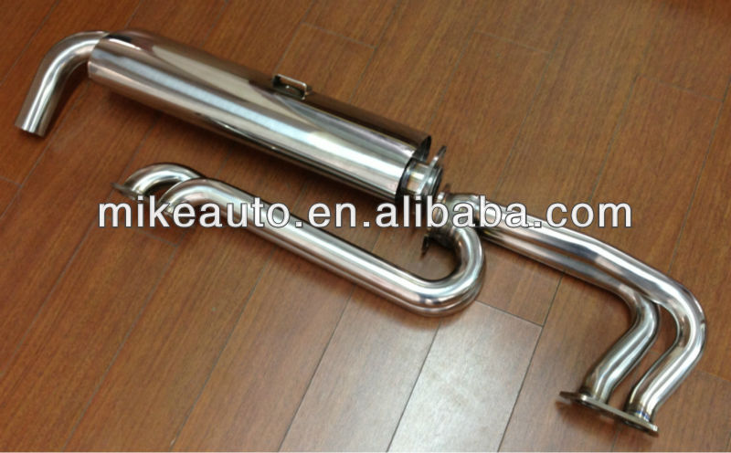 #304 Stainless Steel Quiet exhaust systems for VW Bus T2&411