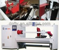 DRC1000ASI43 1.3m single shaft non-woven substrate double-sided adhesive tape cutting machine