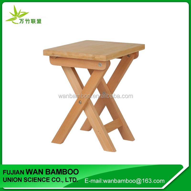 Wholesale Short Bamboo Folding Table