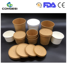 small middle big kraft paper soup bowl plastic fried chicken plate paper fried chips cup pasta box with handle fruits cup amazon