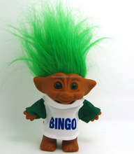 Troll doll in T shirt 10 cm classic toy vinyl figure