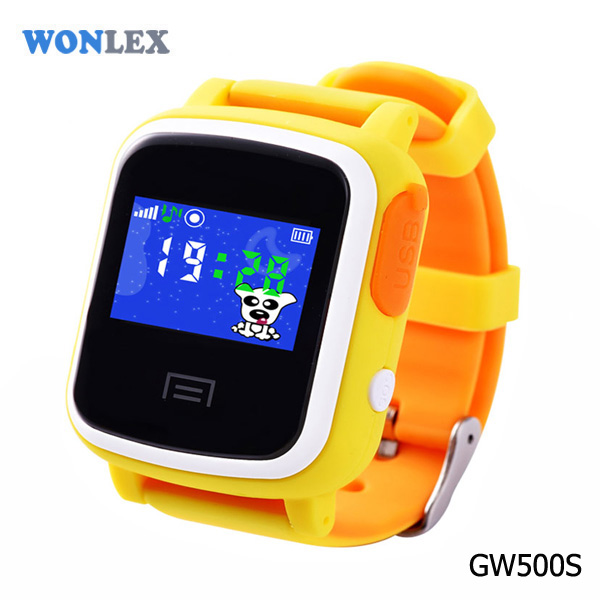 WONLEX GPS+LBS+WIFI+Color touch screen map satellite cell phone trackers