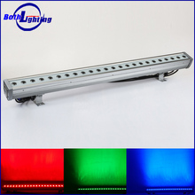 Alibaba supplier led outdoor lighting 24x3W RGB 3in1 waterproof led wall wash light ip65