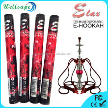 280mAh e-hookah rechargeable battery 500 puffs disposable e hookah