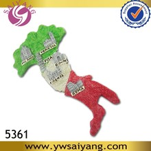 Italy Tourist Polyresin Magnet 5361Heeled Shape Magnet Souvenir Map Resin Fridge Magnet souvenirs