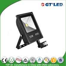 New Design Sensor LED Flood Lamp 10w 20w 30w 50w LED Flood Light with PIR Motion Sensor